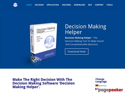 Decision Making Helper - The Decision Making Software