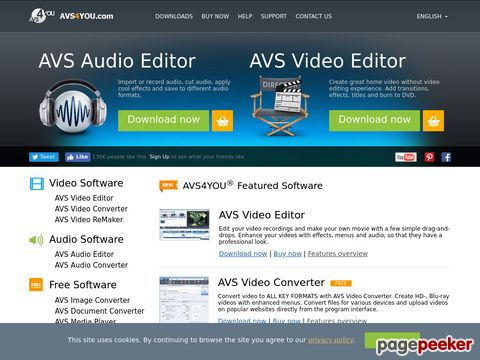 AVS4YOU Top-ranked multimedia tools: video converter, video editor, audio converter, audio editor, image converter and more.