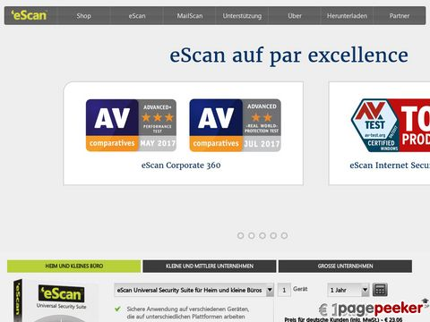 eScan Total Security Suite with Cloud Security for Home and Small Office Edition